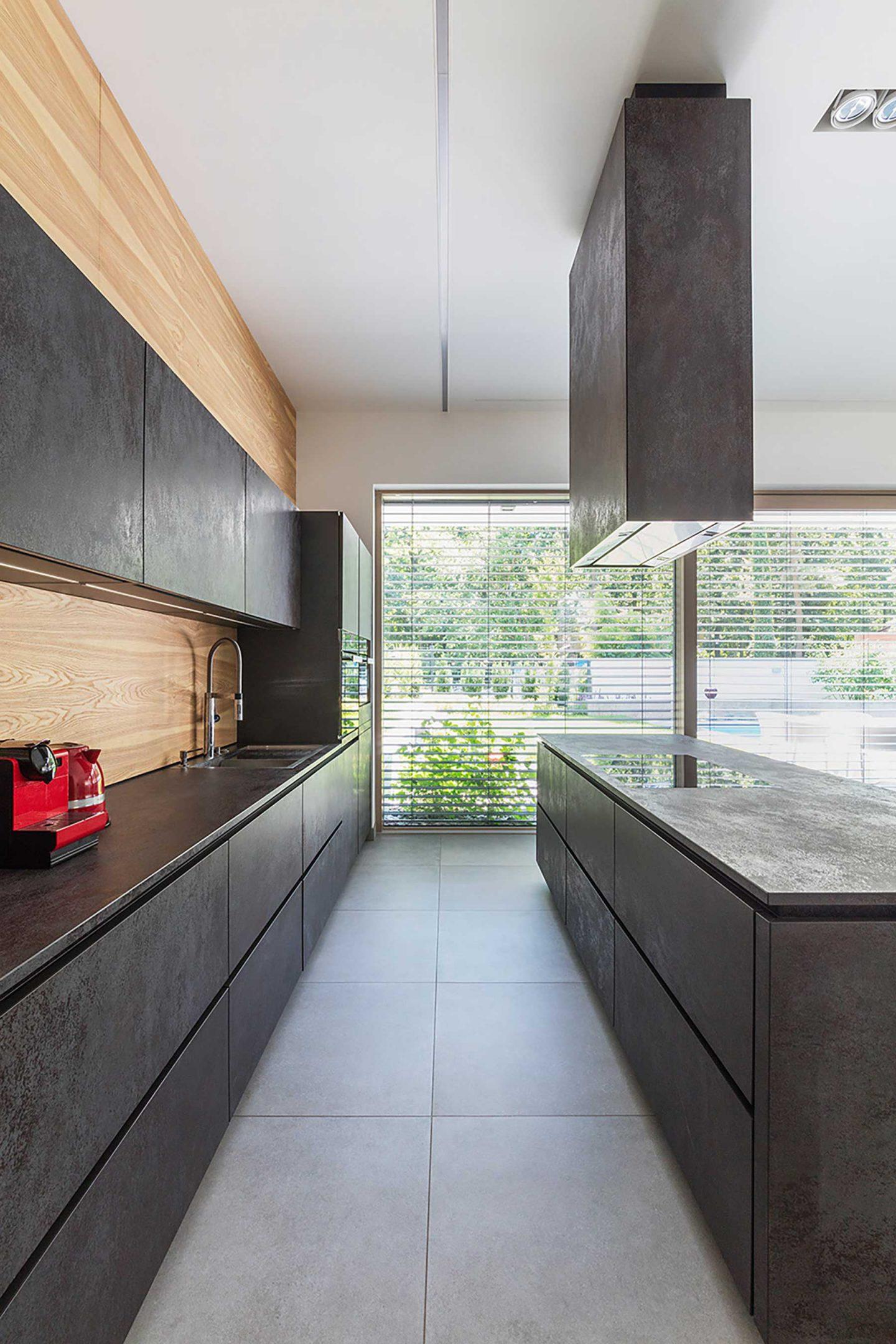 Wood aluminium windows kent