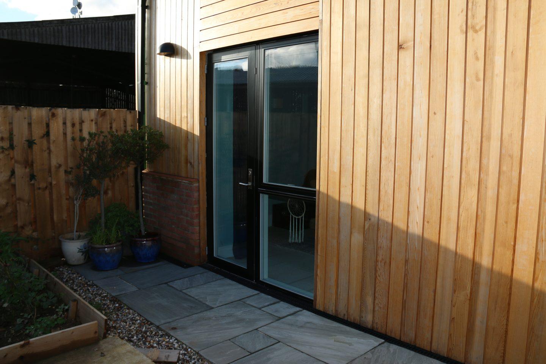 aluclad window installation bedfordshire