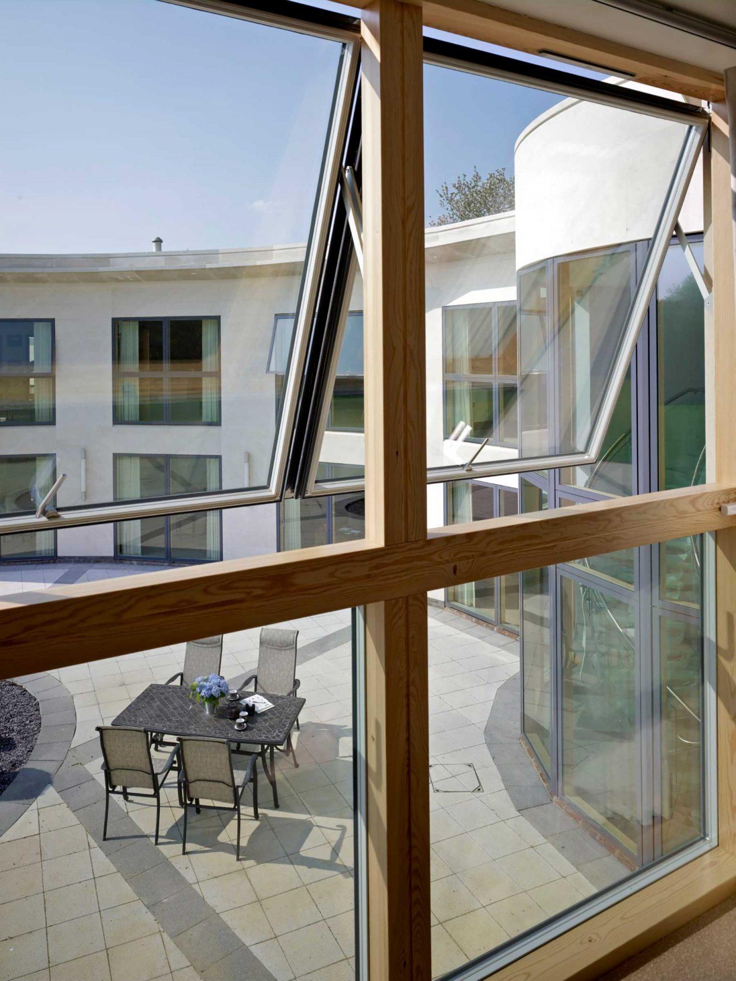 velfac triple glazed windows kent