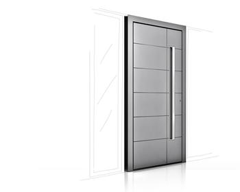 aluminium entrance doors design kent