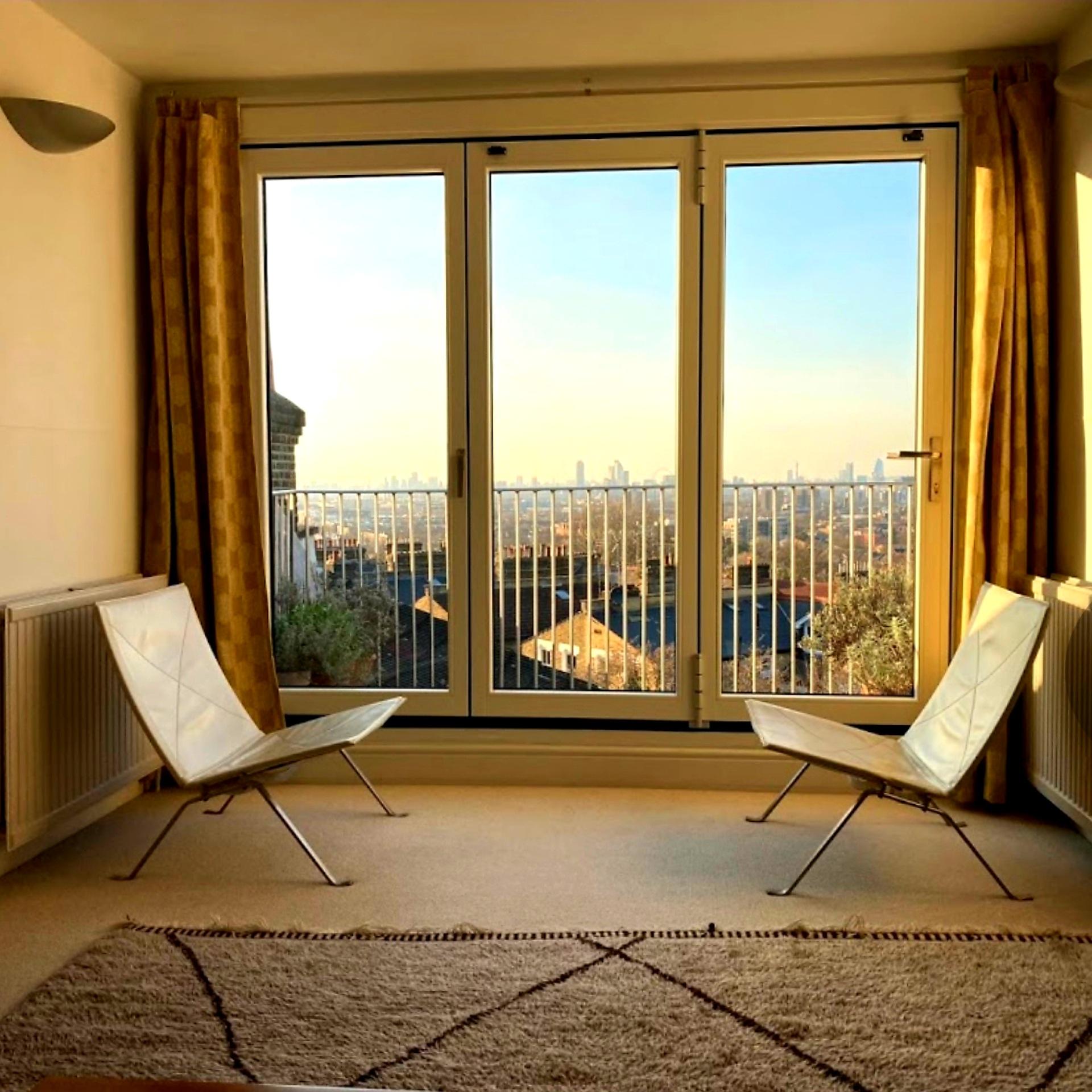 balcony glazing london