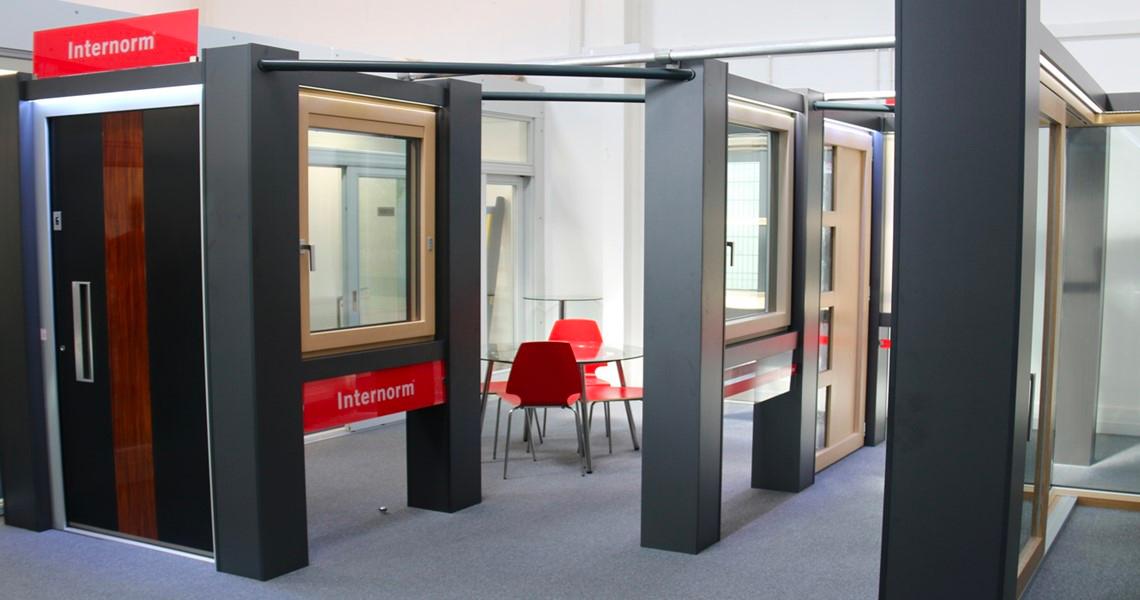 internorm windows & doors showroom